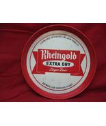 VINTAGE RHEINGOLD EXTRA DRY LAGER BEER METAL SERVING TRAY - $14.84