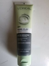 Loreal Paris New Pure-Clay Cleanser Detox-Brighten Clay-to-Mousse - $9.99