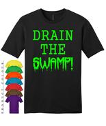 DRAIN THE SWAMP Mens Gildan T-Shirt New - $19.50