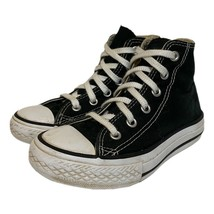 Converse Chuck Taylor All Star Unisex Kids Sneakers Black 3J231 High Top 11 - $19.79