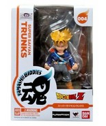 Bandai Dragon Ball Z Super Saiyan Trunks Action Figure Tamashi Buddies S... - $14.99
