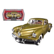 1948 Tucker Torpedo Gold 1/18 Diecast Model Car by Road Signature 92268gld - $57.27