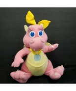 Vintage Dragon Tales Pink Cassie Dragon Plush Stuffed Animal Babysitting... - $21.77