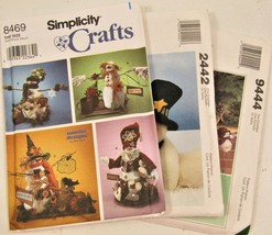 Snowman Patterns Lot - $3.33
