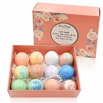 Bath Bombs Gift Set 12 pcs,Shea & Cocoa Butter Dry Skin Moisturize,Perfect - $29.88