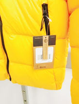 NWT The North Face Hyalite Down Hoodie Hoody Jacket Women Yellow Small image 2