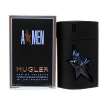 THIERRY MUGLER A*MEN EAU DE TOILETTE REFILLABLE RUBBER SPRAY 50 ML/1.7 F... - $58.91