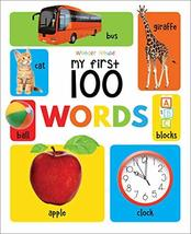 My First 100 Words Padded Board Book [Board book] Wonder House Books - $12.74