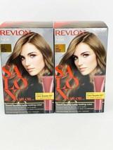 (2) RevloLot of 2 Revlon Salon Color 6G Light Golden Brown Color Booster... - $23.71