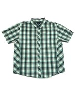 prAna Mens Snap Button Shirt Size XL Extra Large MINT Plaid ORGANIC COTTON - $22.79