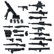 Army military guns weapons pack for lego minifigures minifig accessories a weapons pack thumb200