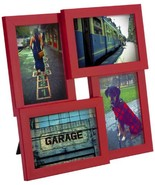 Umbra Pane, Multi 4x6 Picture Frame Collage for Desktop, Red - $30.69