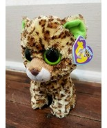 "Ty Beanie Boos - 6"" Speckles the Leopard Plush (Purple Heart Tag) - $19.34"