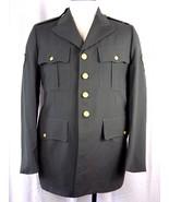 GENUINE US ARMY CLASS A UNIFORM COAT SIZE 39 LONG AG 344  - $29.99