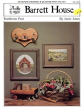 Traditions Past Cross Stitch Pattern Leaflet Barrett House Seasoned Cros... - $3.57