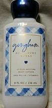 Bath & Body Works Gingham Super Smooth Lotion Shea Butter & Coconut Oil 8oz - $12.95