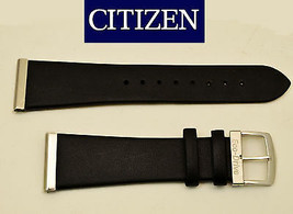 Genuine Citizen Eco Drive  Black Leather Watch Band 20mm AU1035-08E - $52.95