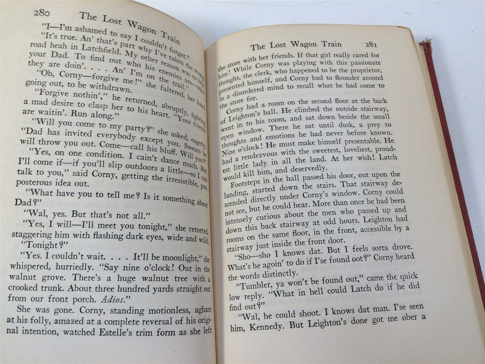 The Lost Wagon Train by Zane Grey HC 1936