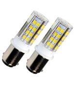2-Pack HQRP BA15d 110V LED Bulb for Bernina 530 540 640 700 710 720 730 ... - $12.95