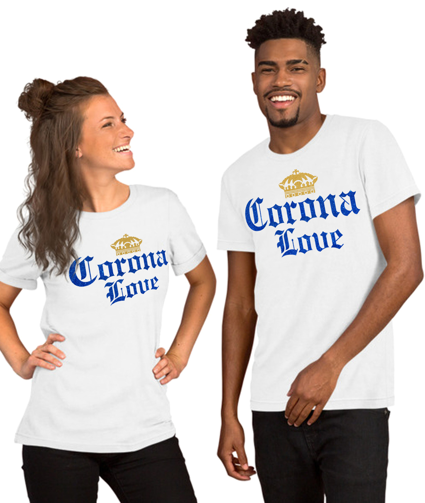 corona love Corona extra Bottle beer T Shirt, cinco de mayo party tee shirt image 3