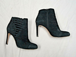 Via Spiga black suede ankle bootie   Size 7 1/2   Euro 38.5 - $37.98