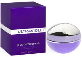 Paco Rabanne Ultraviolet pour Femme Parfum 80ml ~80 ML Eau de Parfum Spray - $51.75