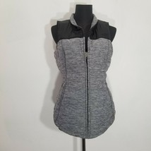 The North Face Pseudio Vest Jacket Womens Size S Pockets Zip Up Heather ... - $33.81