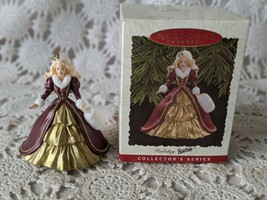"1996 Hallmark ""Holiday Barbie"" Collectors Series Keepsake Christmas Orna... - $9.69"