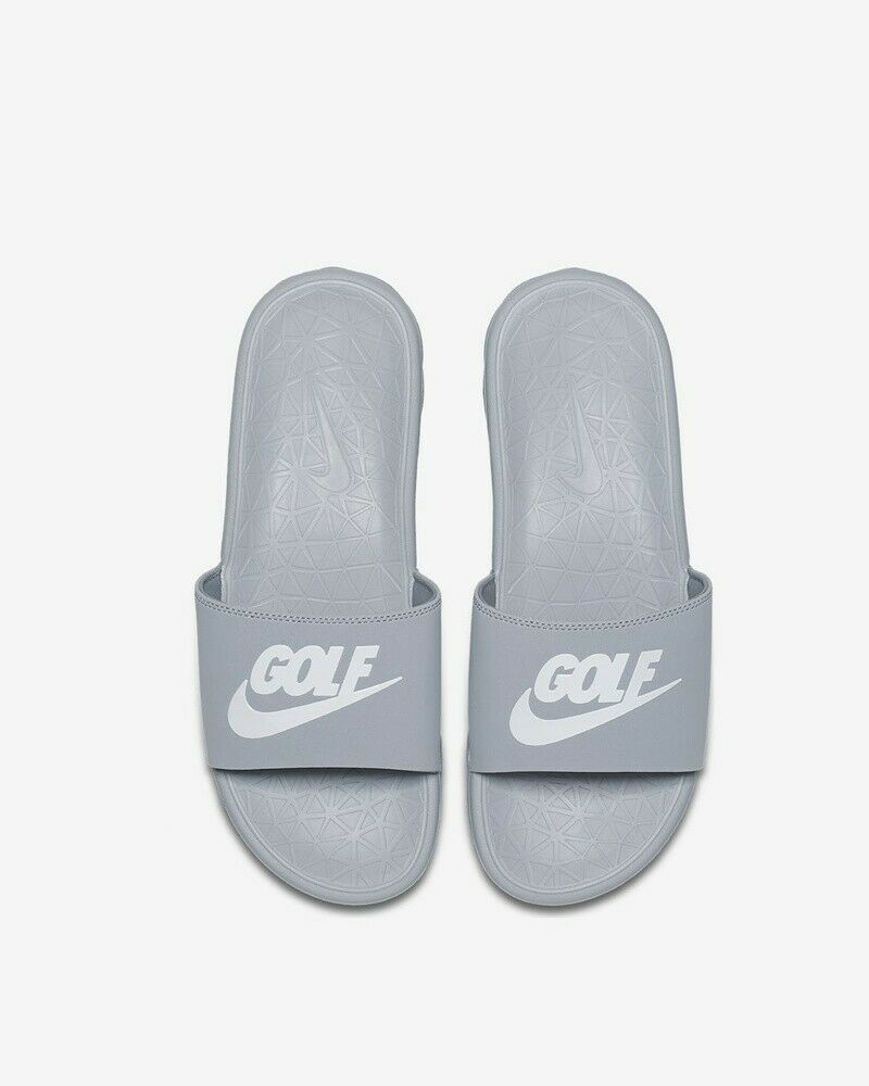 Primary image for NIKE Benassi Solarsoft 2 Men's Golf Shoes - 910311 002 Wolf Grey ( 5 ) Free Ship
