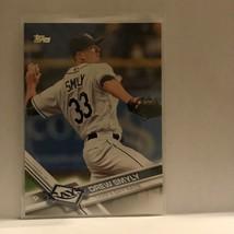 Drew Smyly #334 Tampas Bay Rays Topps 2017 Baseball Card B3 - $1.62