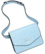 DKNY Whitney Leather Croco Embossed Belt Bag, Blue $128 - $43.29