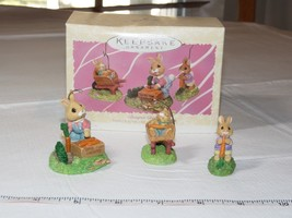 HALLMARK Keepsake Ornament 1997 Spring Collection Bumper Crop Tender Tou... - $10.88