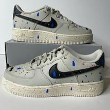 Nike Air Force 1 LV8 AF1 3 Paint Splatter GS 5Y 6.5 Women Shoe Sneaker D... - $99.11