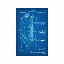 "Vintage Airship Print Design 008 - Art Print - 18"" tall x 12"" wide - $21.00"