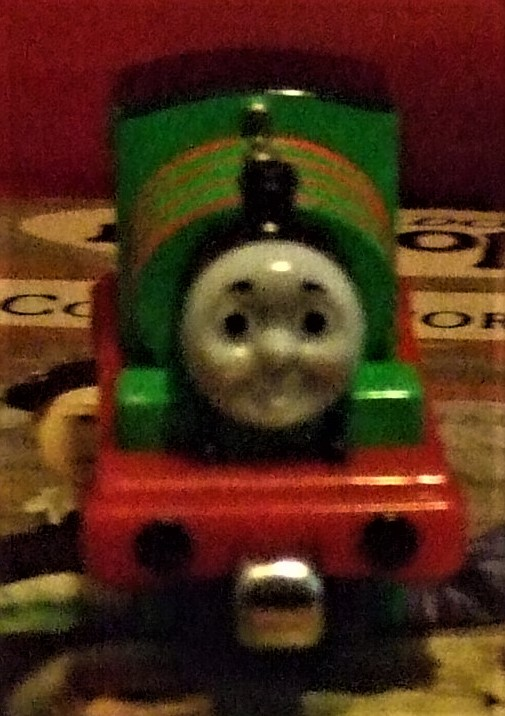 Thomas and Friends -Thomas, Percy,Stanley, Duncan,Sodor Line -5 trains &Track