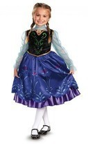 NEW Disney Frozen Anna Traveling Deluxe Dress Halloween Costume by Disgu... - £15.04 GBP