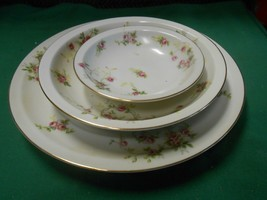 Great Collectible OCCUPIED JAPAN Set of 3 Dishes- Dinner- Bowl & Berry Bowl - $27.31