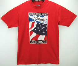 Vintage 1991 American Airpower Men's Size Medium T Shirt Single Stitch USA - $27.95