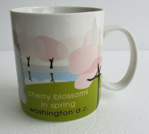 Primary image for 2007 Starbucks WASHINGTON D.C. Cherry Blossoms in Spring Collectible Coffee Mug