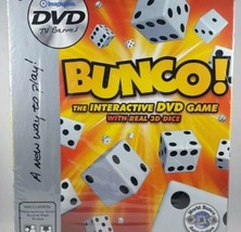 Interactive DVD Family Game with 3D Dice ~ Bunco ~ Brand New! ~ TV Game - $8.90