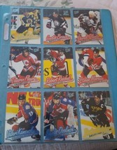 1996/97 FLEER ULTRA HOCKEY LOT OF 27 CARDS - $2.50