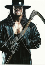 * The Undertaker Signed Photo 8X10 Rp Autographed Wwf Wwe Wrestling - $19.99