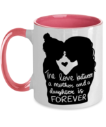 Mother's Day Gift- The Love Between A Mother And A Daughter Is Forever -... - £16.39 GBP