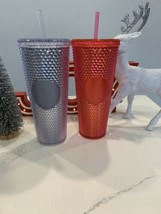 2 STARBUCKS HOLIDAY 2019 VENTI STUDDED TUMBLERS LIMITED EDITION BRAND NEW image 2