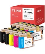 TEINO Compatible Ink Cartridge Replacement for Brother LC203 LC203XL 203... - $23.42