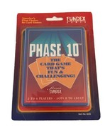 PHASE 10 VINTAGE Card Game by Fundex Games 1992 Version NEW SEALED 8220 - $14.84