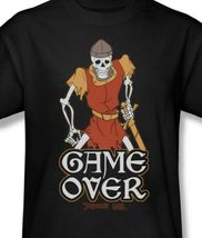 Dragons Lair Game Over t-shirt retro 80's classic arcade game graphic tee DRL100 image 3