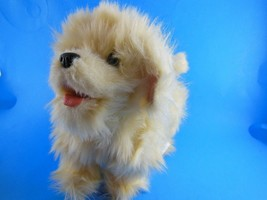 Hasbro Fur Real Friends White Puppy Dog Toy Walks Barks other noises 8 i... - $9.49
