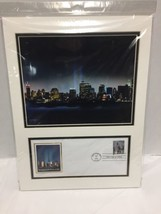 September 11 Heroes USA First Day of Issue Stamp New York City Skyline P... - $29.69