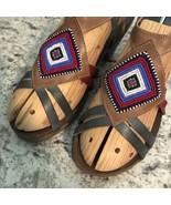 PIKOLINOS Womens NAJAVO INDIAN BEAD Sandal LOW HEEL 39/8/5-9 - $69.25